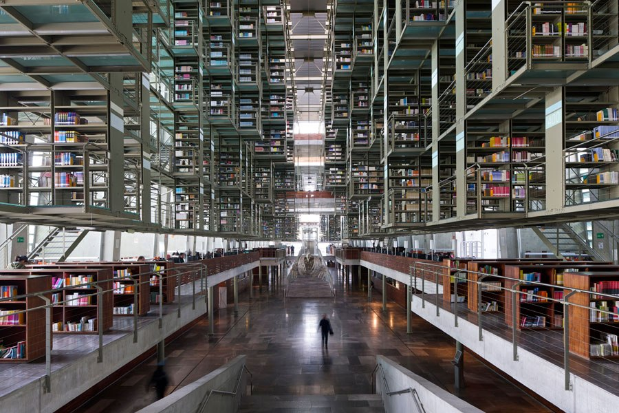 Biblioteca Jose Vasconcelos, Cidade do Mèxico, México